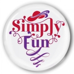 Simply Fun Buttons, fridge mags, purse mirrors