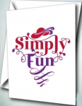 6pk Note Cards - Simply Fun 2015 RHS Theme