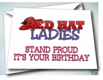"""Stand Proud, It's Your Birthday"" Birthday cards"