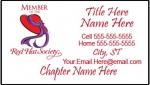 Red Hat Society Calling Cards