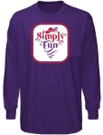Simply Fun RHS Long Sleeve Purple T-shirt