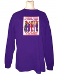 Stand Proud RHS Supporting member Long Sleeve Purple T-shirt Design R