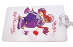 Red Hat Society Bag Tag artwork #S13