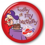 Red Hat Society button artwork #S25