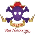 Red Hat Society badge artwork #S15