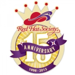 Red Hat Society badge artwork #S16