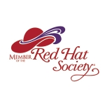 Red Hat Society badge artwork #S21