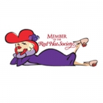 Red Hat Society badge artwork #S26