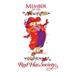 Red Hat Society badge artwork #S27