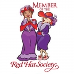 Red Hat Society badge artwork #S28