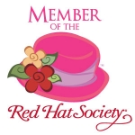 Red Hat Society badge artwork #S4