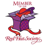 Red Hat Society badge artwork #S5