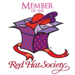 Red Hat Society badge artwork #S6