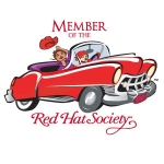 Red Hat Society badge artwork #S7