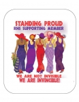 Standing Proud Mousepad R Design